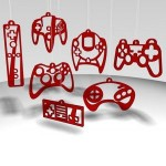 game console ornaments